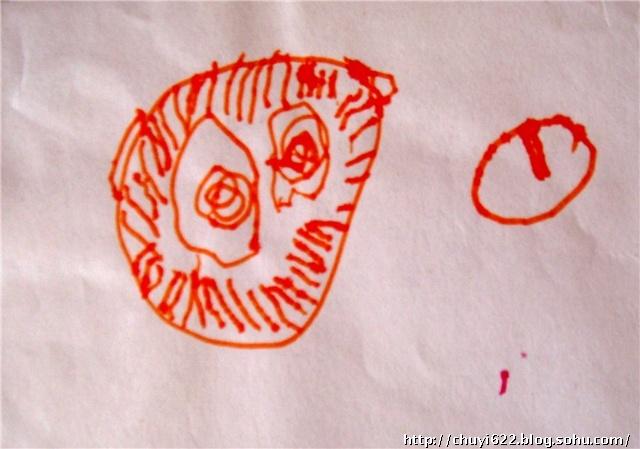 儿幼儿园小班的手工和美术作品