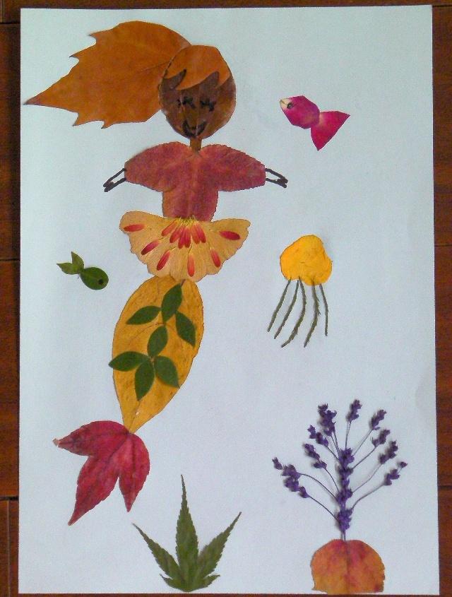 秋天作品-树叶美人鱼-vv的旅游日记-搜狐博客