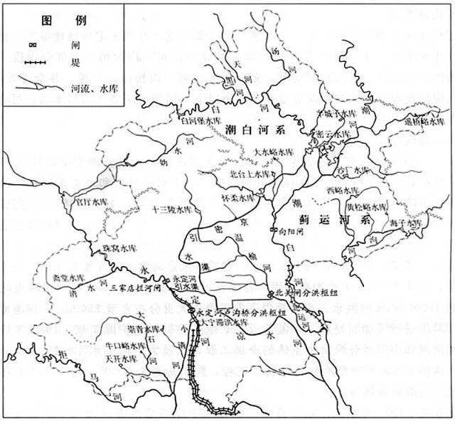 永定河全流域地图