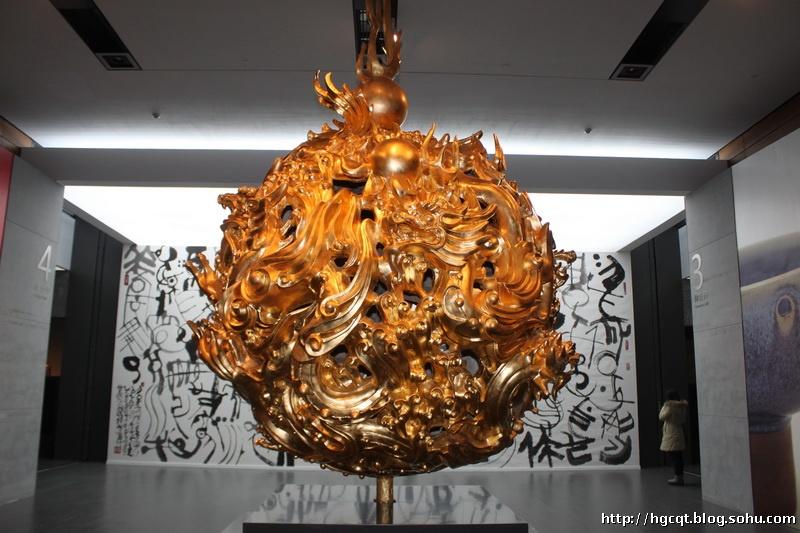 韩美林的雕塑作品