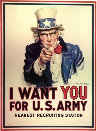 美国陆军需要你!图片