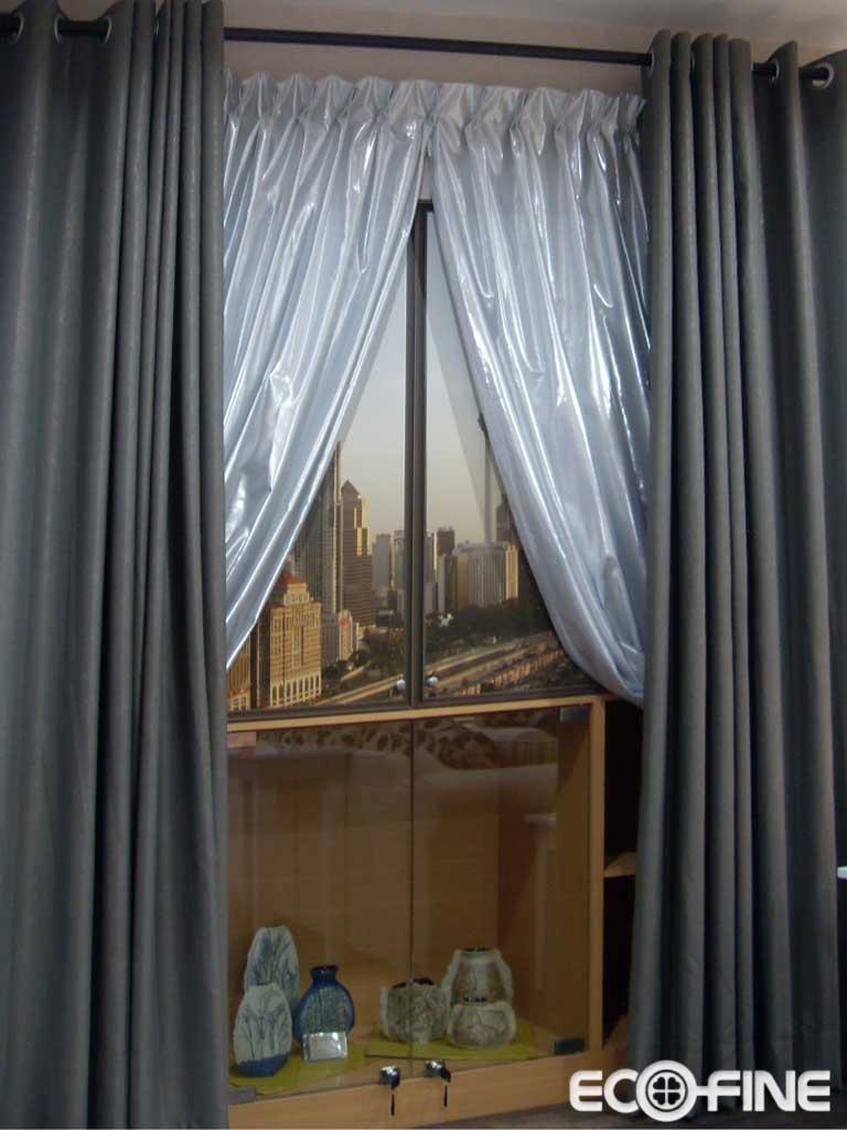 隔热保温的易可纺窗帘效果图