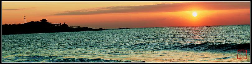 【与你同行*摄影】汕尾遮浪岛红海湾——日出