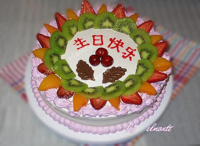 水果蛋糕-elmonte-搜狐博客