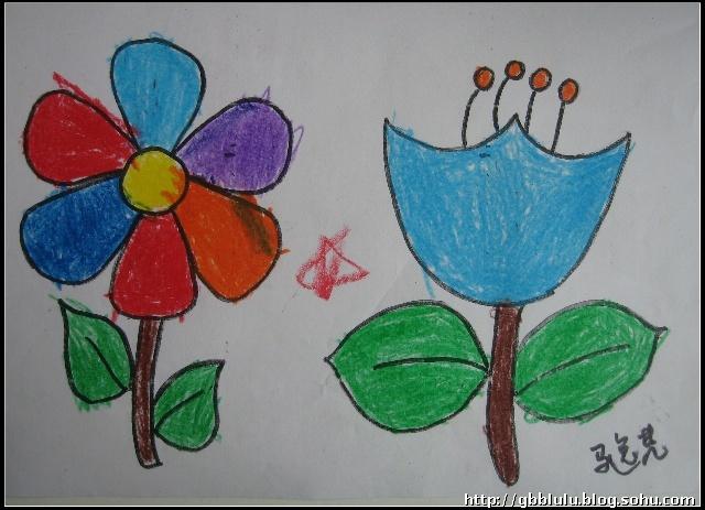 小班下学期绘画手工作品集