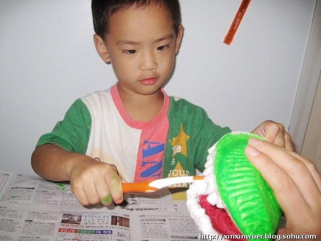 儿童立体手工牙纤制作_幼儿园手工制作牙齿模型_小制作大全