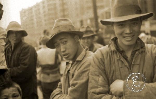 旧上海苦力写真 - 图说历史 - 社会人文