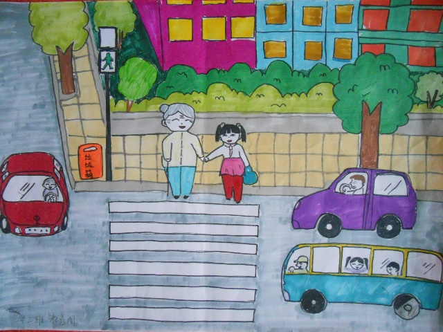 画孝敬老人的简笔画-七小重阳节活动工作总结