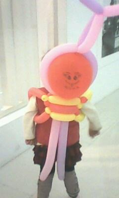 气球编织造型玉米