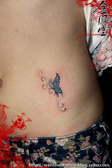 蝴蝶纹身 梵文纹身 黑白无常纹身 字母纹身 猫文身 情侣刺青 小象文身