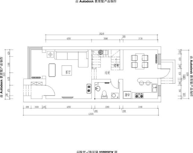 上海实创装饰-160平三层别墅美式田园风格装修效果图