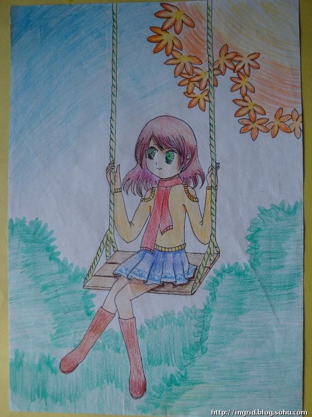 王莽岭_2010年冬季绘画作品---彩铅画-Ingrids Blog-搜狐博客
