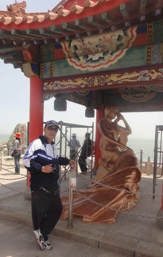 2011年山东游(19)威海. 始皇庙. 福如东海