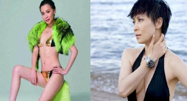 刘嘉玲漏逼_爆乳逼人的刘嘉玲难道造人成功(组图)?