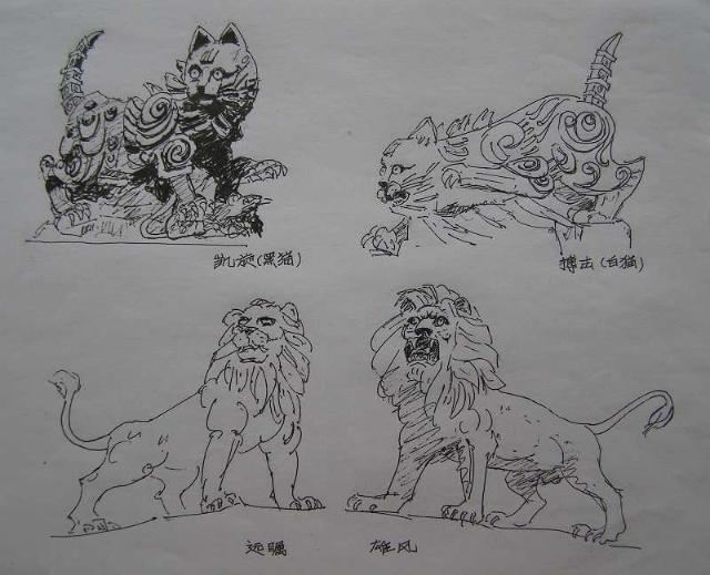 南昌八一广场手绘