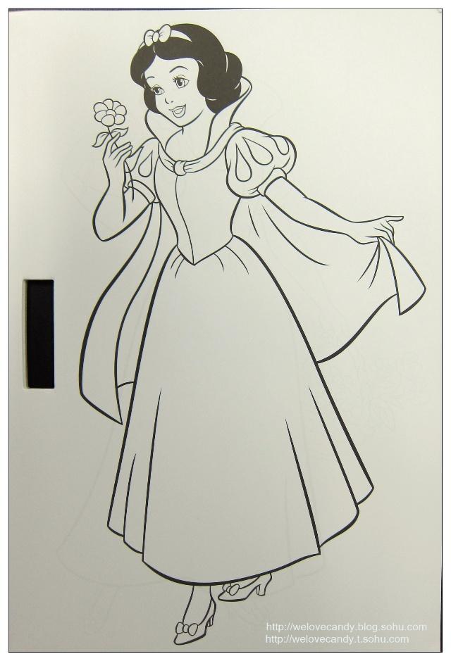 手绘版 白雪公主和七个小矮人>