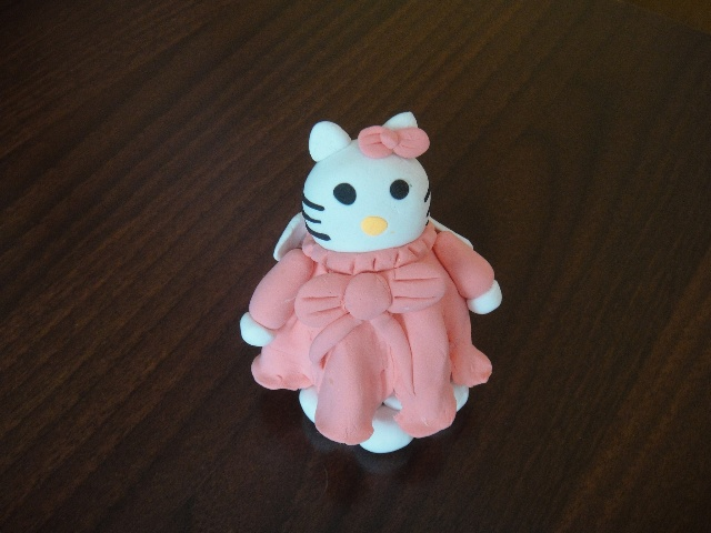 用彩泥做只可爱的小猪图片大全