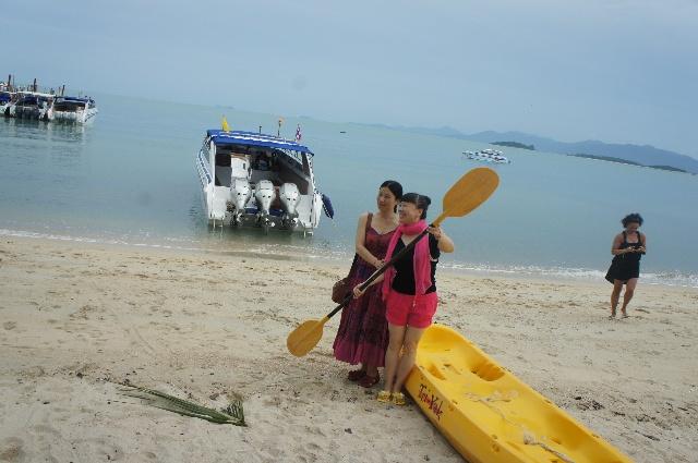 曼谷,苏梅岛之旅(六)——出海,快艇,龟岛