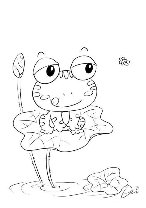 蕾儿的小创作练习稿——20组小动物-蕾儿童画-我的搜