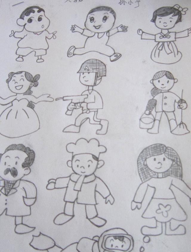 教师简笔画分享-长葛市市直幼儿园-搜狐博客