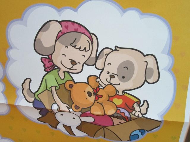 收拾玩具卡通图