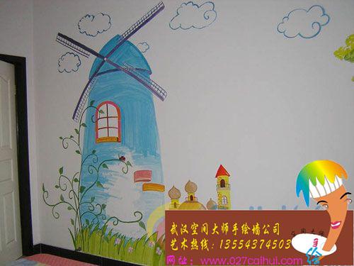 手绘墙的各种风格