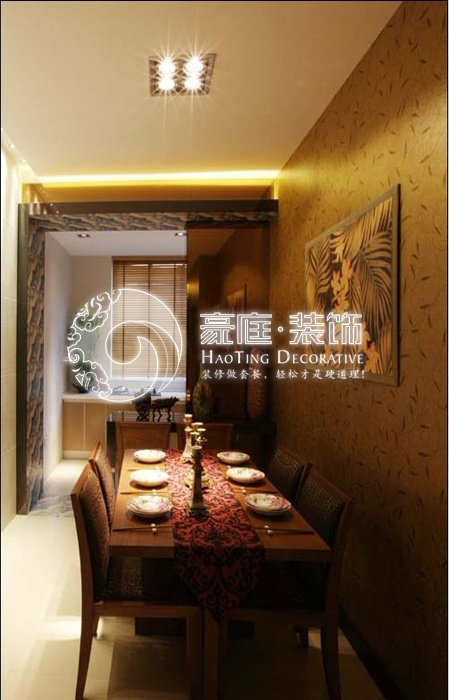 建筑面积:144平米 装修风格:东南亚风格   套餐价格:415/平