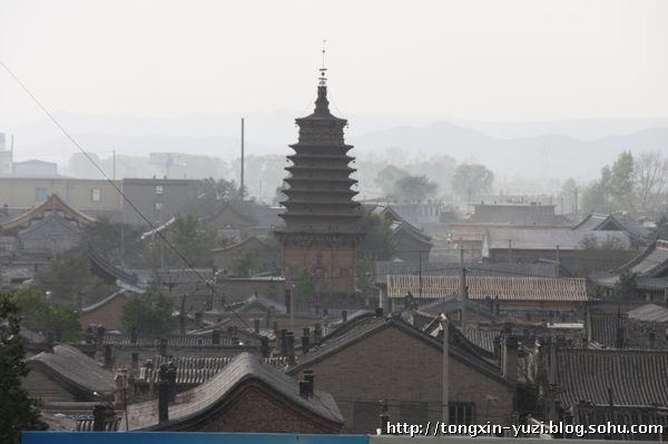 浑源县圆觉寺的释迦舍利砖塔