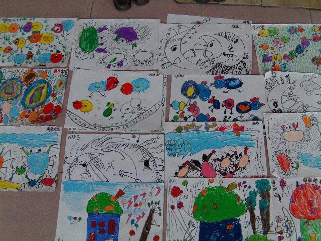 幼儿园-搜狐博客; 大班创意美术范画图片大全_大班创意美术范画图片图片