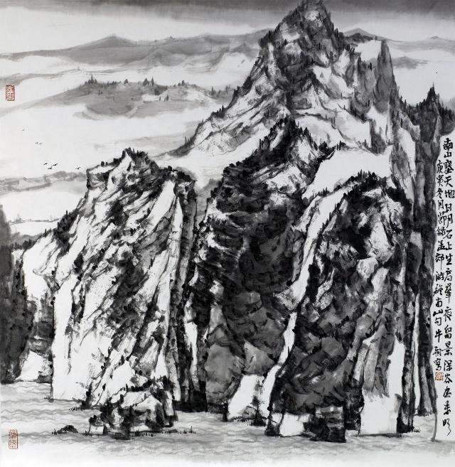 陕北民俗简笔画