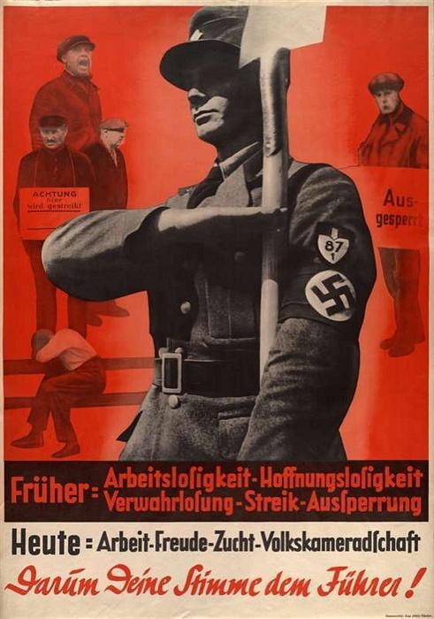 和平未来手绘宣传海报
