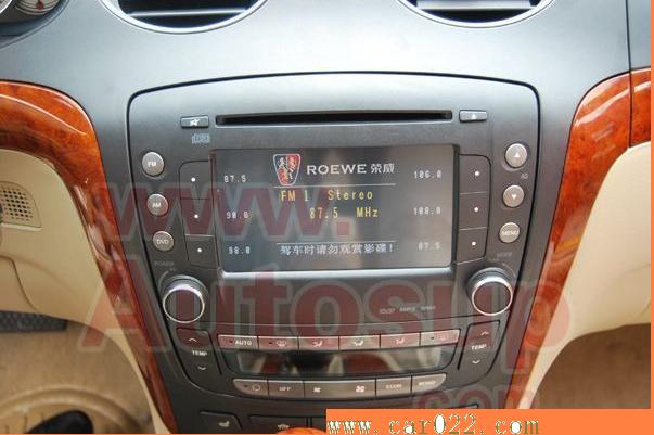 荣威750加装导航系统-荣威750原车屏升级加装导航