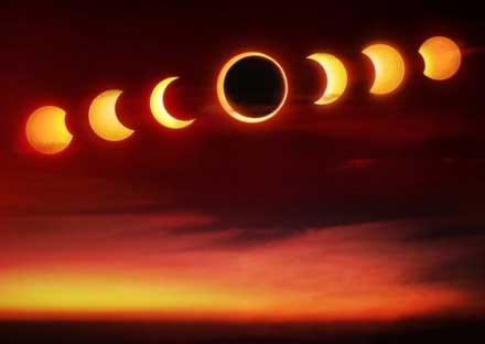 是一轮温馨的月亮, 冷静