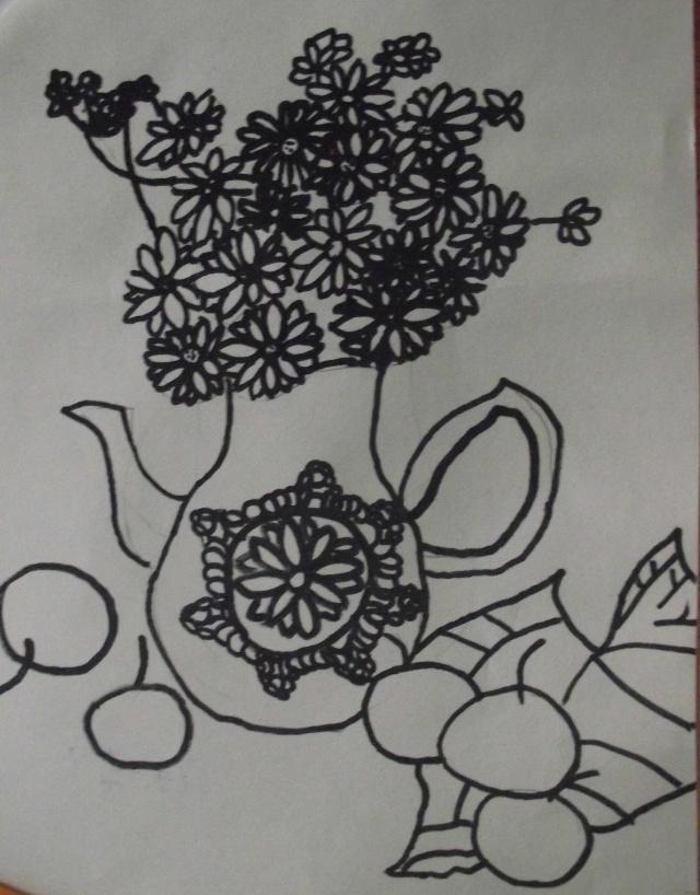 儿童画 简笔画 手绘 线稿 640_818 竖版 竖屏